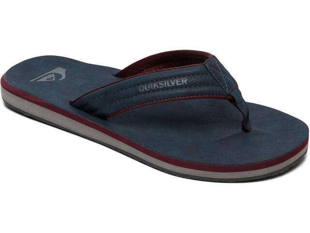 Quiksilver Carver Nubuck - Sandales Homme - gris/bleu